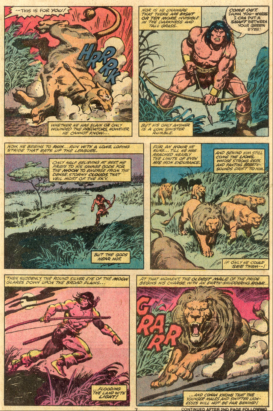 Conan the Barbarian (1970) Issue #105 #117 - English 7
