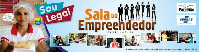 Sala do Empreendedor de Parelhas/RN