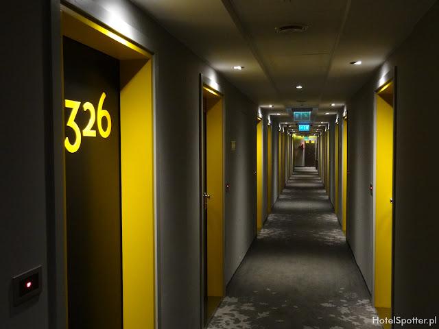 PURO Hotel Wroclaw - korytarz