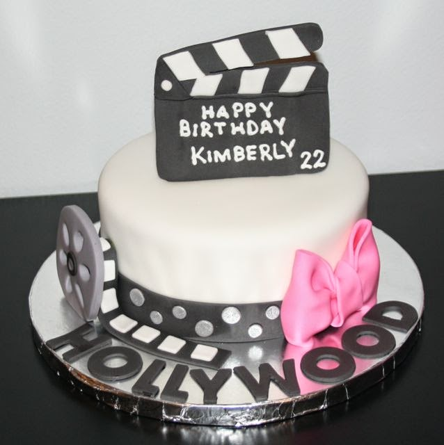 Jacquelines Sweet Shop Hollywood Themed Birthday Cake