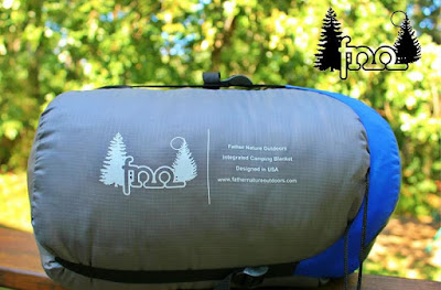 Must Have Backpacking Gadgets - Outdoors Integrated Camping Blanket