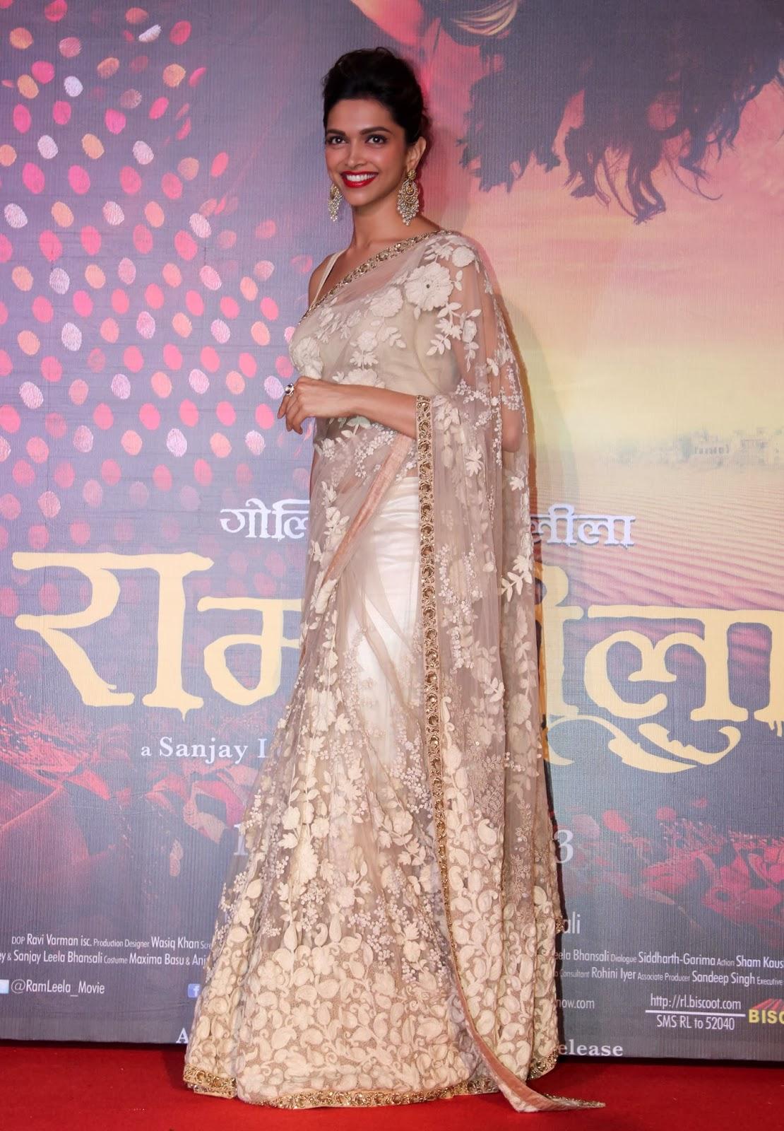 padukone saree Deepika