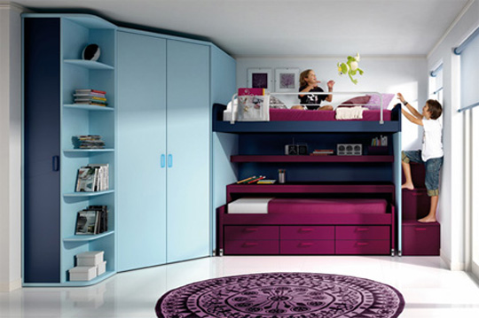 Modern Furniture for Kid's Room Interior