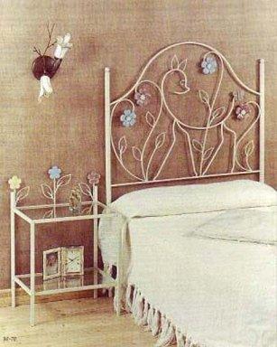 Decoraci n de interiores dormitorios de forja espacios - Habitaciones de forja ...