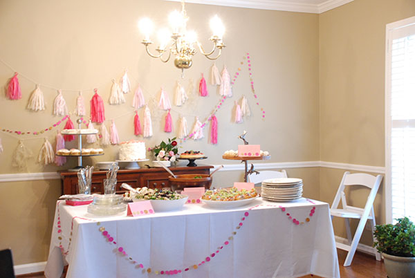 Baby Shower For A Sweet Baby Girl Named Edith The Curtis Casa