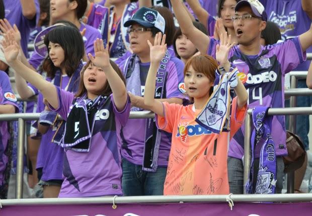 Suporter Wanita J.League - Sanfrecce Hiroshima