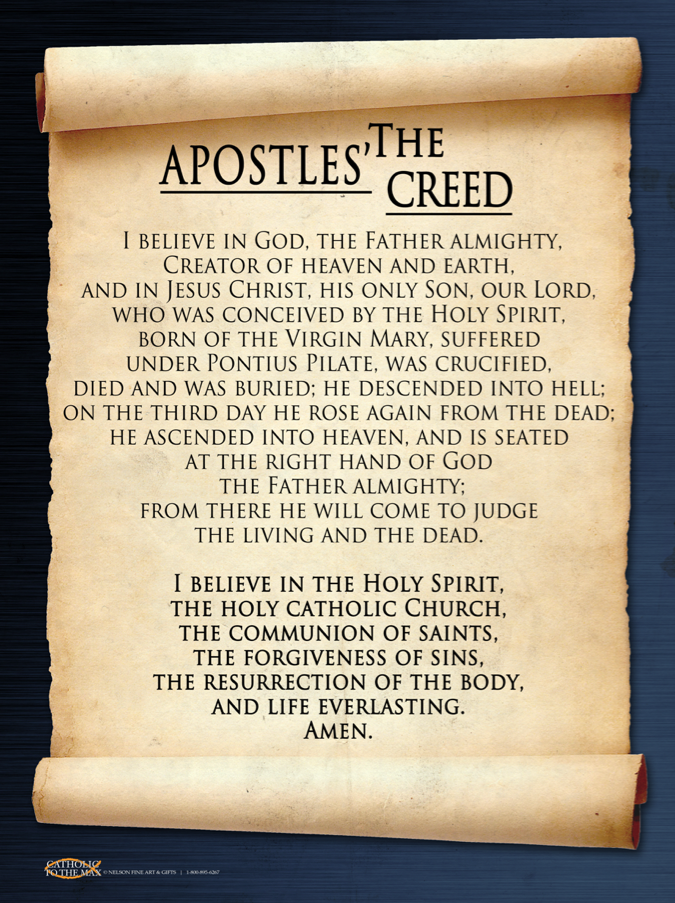 the apostles creed essay Check out our top free essays on apostles creed analysis to help you write your own essay.
