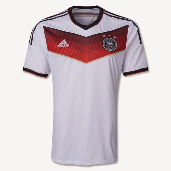 Jersey Negara Jerman - Piala Dunia 2014