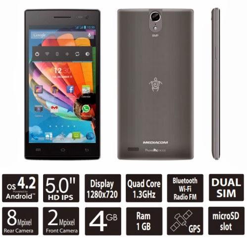 Nuovo phabled android dual sim più leggero e sottile in arrivo da Mediacom