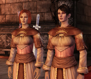 Leliana und Morrigan in Dragon Age
