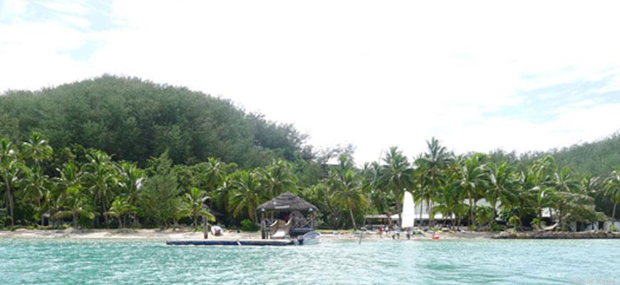 Mana Lagoon Backpackers, Mana Island, Fiji