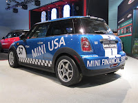 2012 MINI Cooper B-Spec race car