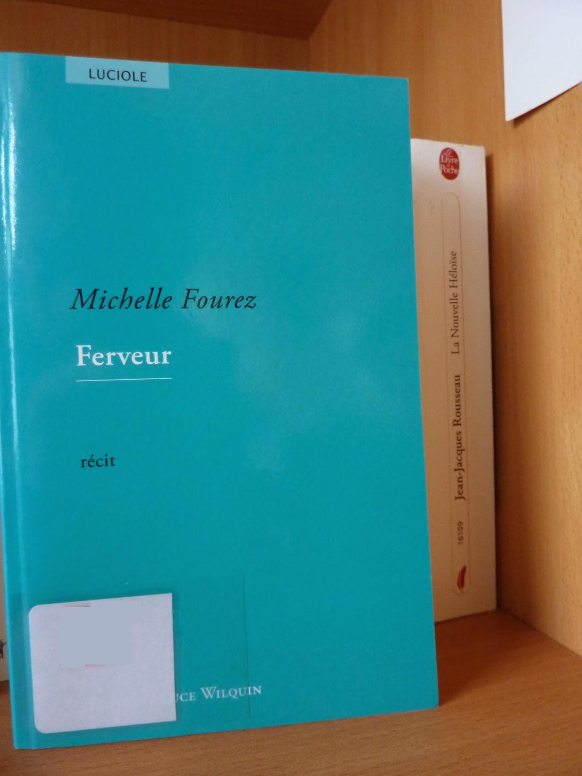 Ferveur - Michelle Fourez