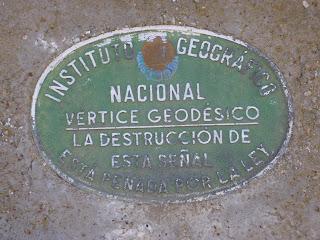 Vértice geodésico Nacional Pico del Loco