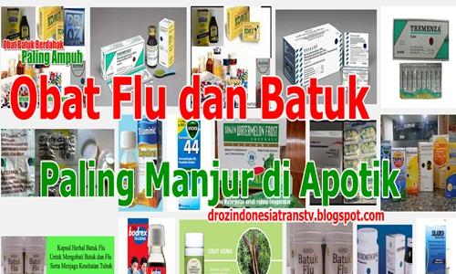 Dr. OZ Indonesia: Obat Flu dan Batuk Paling Manjur di Apotik
