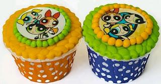Cupcakes de las Chicas Superpoderosas