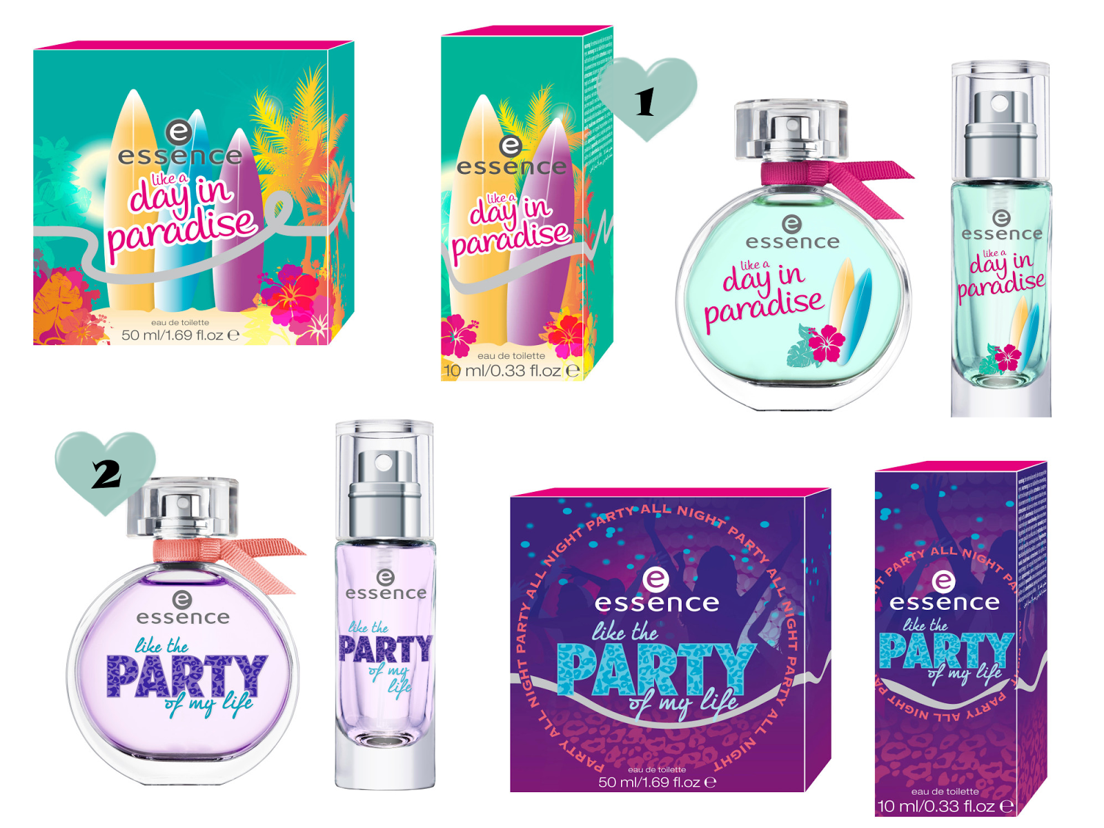essence New Fragrances September 2013