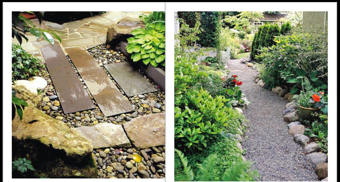 In en om die huis tuinpaadjie inspirasie - Ingang huis idee ...