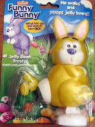 Easter bunny that poops jelly beans. Guess that's better than pooping . easter bunny poops jelly beans