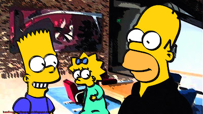 Simpson, Bart Simpson, Homer Simpson, Simpson Family, Simpson Wallpaper, Bart Simpson Wallpaper, Homer Simpson Wallpaper, Cartoon, Cartoon Bart Simpson, maggie simpson, HD Simpson Wallpapers, Simpson wallpaper widescreen, simpson wallpaper 16:9