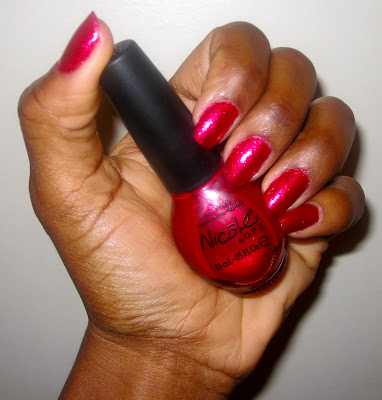 Manicure Mondays – Christmas Red