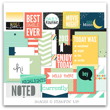 Rise & Shine Pocket Cards - Digital Download by Stampin' Up!