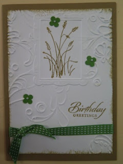 double embossing  Zena Kennedy independent Stampin Up demonstrator,