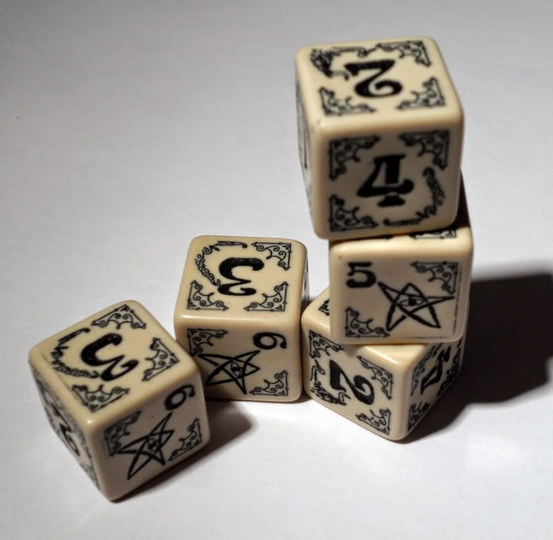 Why band name Blink-182 - Random number - Arkham Horror dice