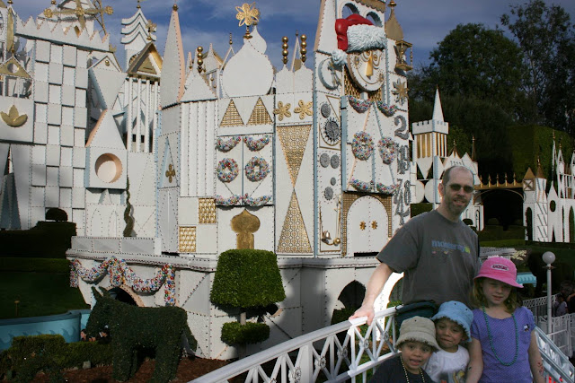 It's a Small World Holiday at Disneyland