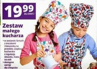 zestaw kucharza biedronka