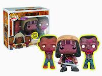Funko Pop! Michonne & Her Pets GITD