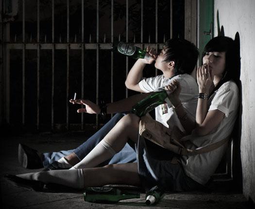 Pengaruh Kenakalan Remaja Berdampak Negatif Sampai Ke Anak SD