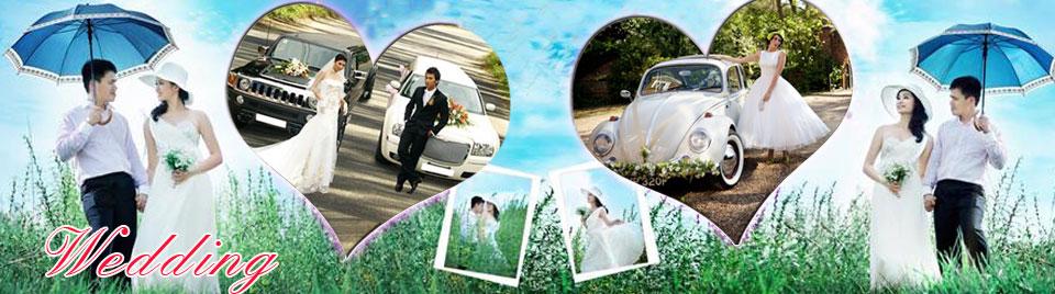 Hoa xe cưới | Hoa cưới cầm tay cô dâu | Thuê xe cưới | Xe cưới màu trắng | Xe cưới mui trần