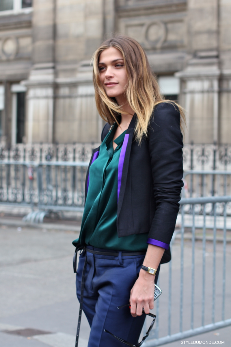 MY FASHION TRICKS: Model Style: Elisa Sednaoui!