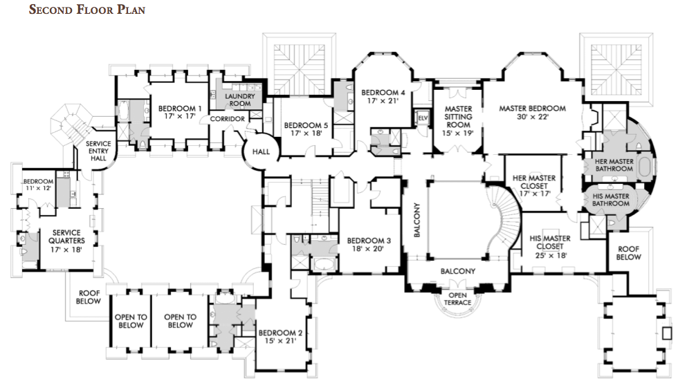 Bedroom House Plans With Indoor Pool   Free Online Image House Plans    Stone Mansion Floor Plans on bedroom house plans   indoor pool