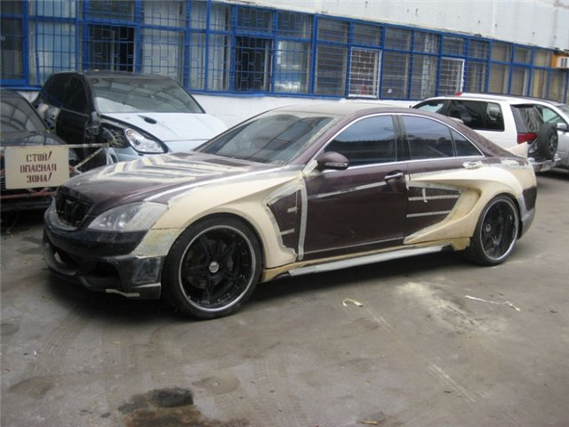 Mercedes Benz S Class W221 Tuning By