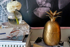 Ananasskål i mässing