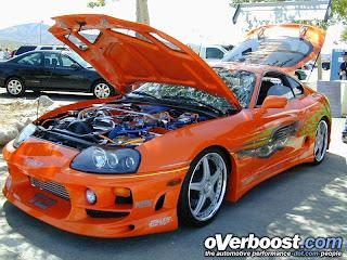 Toyota Supra Fast And Furious 2