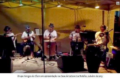 Amigos do Choro, de Leopoldina, MG, outubro 2013
