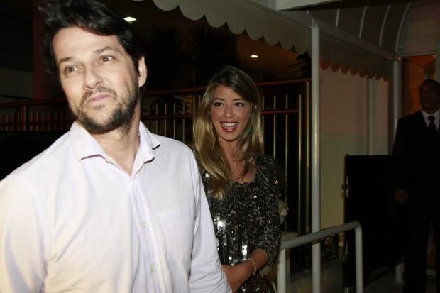 Marcelo Serrado na entrada da festa de Preta Gil (Foto: Isac Luz / EGO)