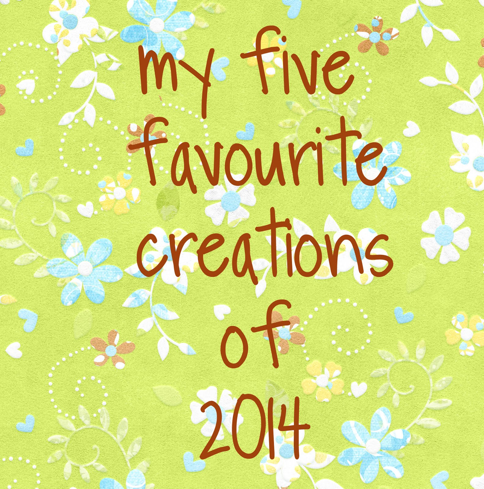 http://debby4000.blogspot.ca/2014/12/my-favourite-five-of-2014.html