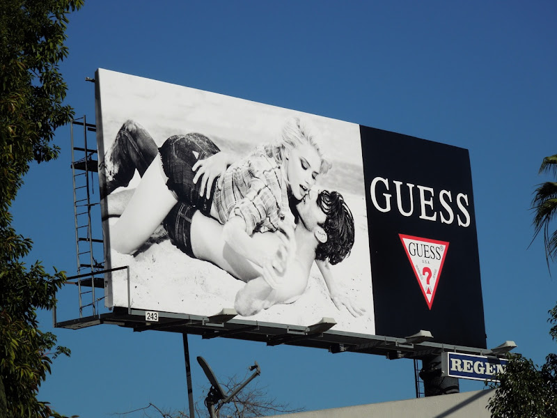 Guess 2012 beach bodies billboard