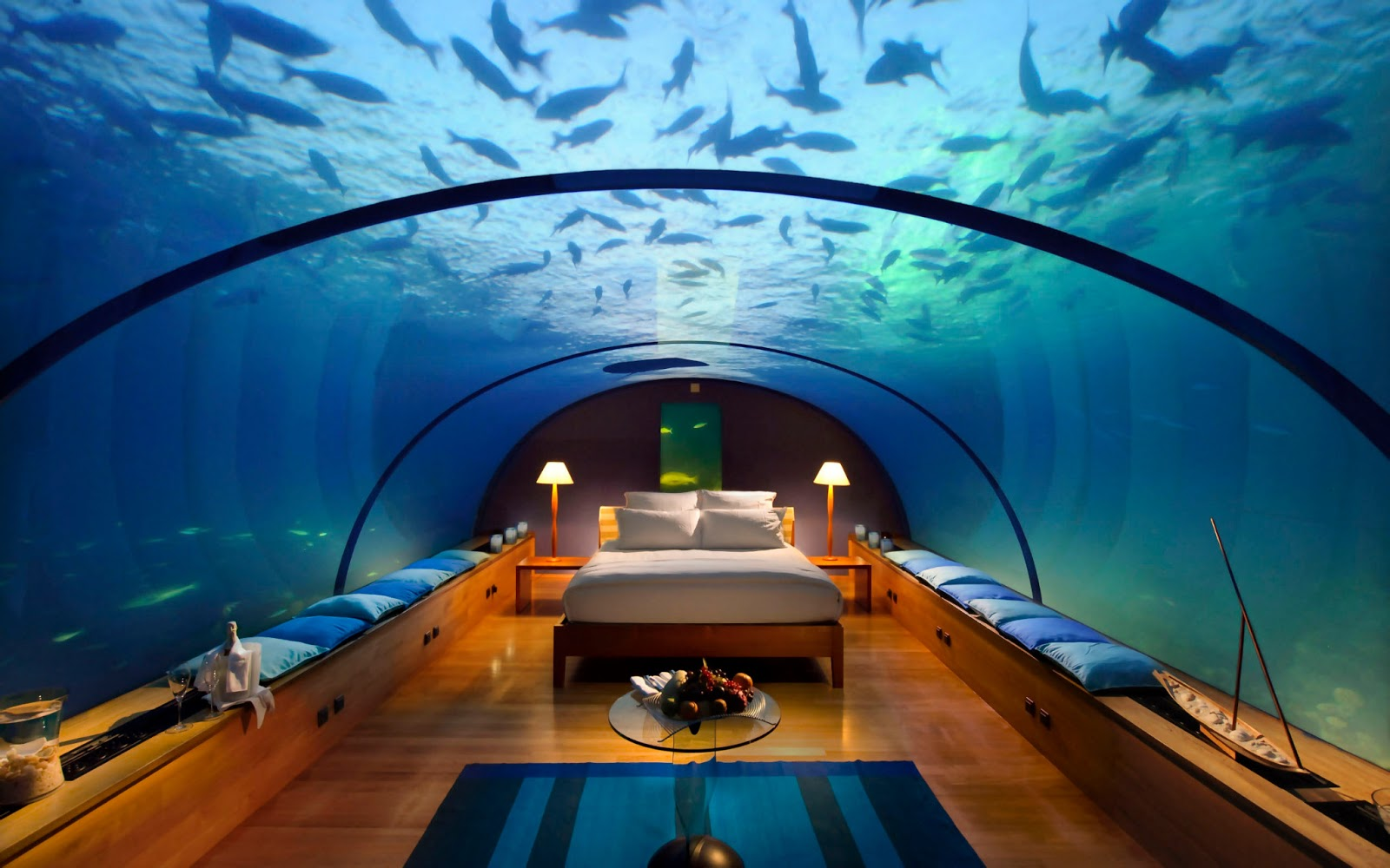 Dubai hotel under water best branded luxury hotel