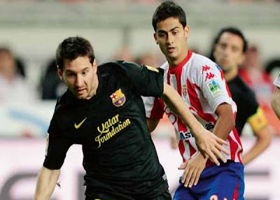 Sporting Gijon 0 - 1 Barcelona (3)