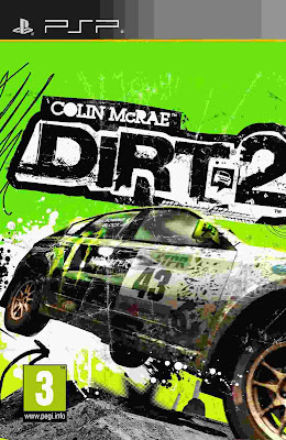Free Download Dirt 2 PSP Game Cover Photo