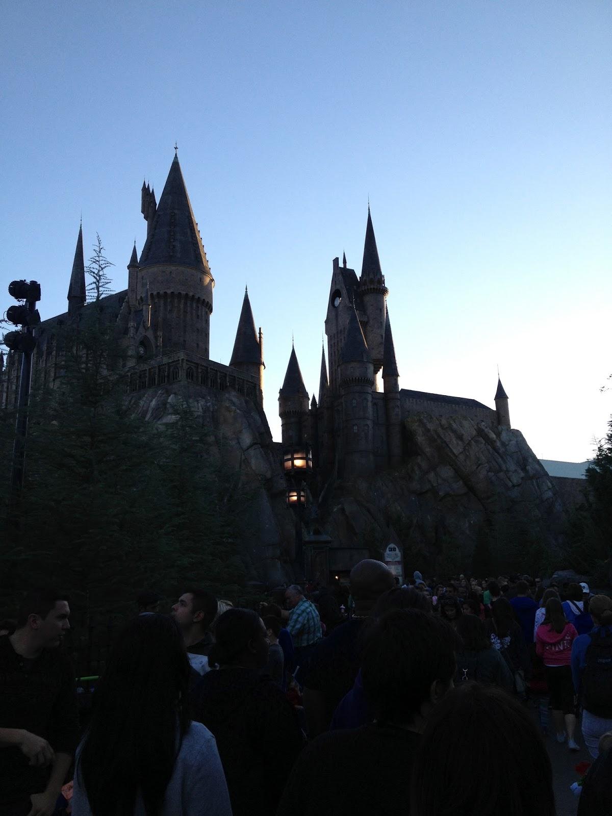 Hogwarts Castle...
