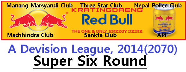 A Division League Super Six Round