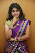 Krishnaveni glam in half saree-thumbnail-14