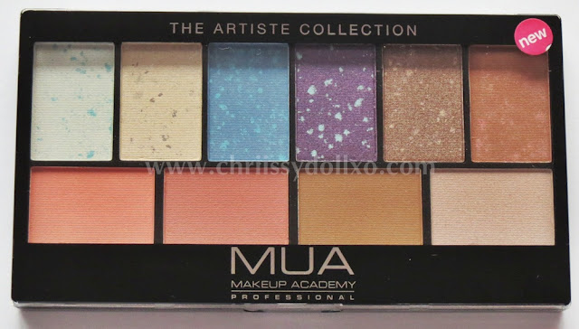 MUA The Artiste Collection Palette