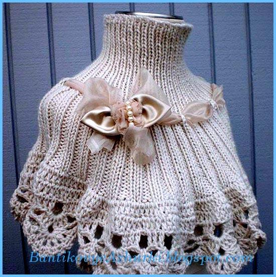 Теплый шарф (снуд-трансформер)